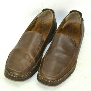 Mephisto Cool Air Leather Loafers Shoes Mens 12 M